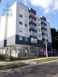 Apartamento 02 dormitórios em prédio novo de esquina ,bem localizado na Zona sul, próximo