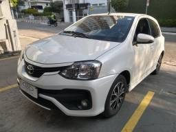 Toyota Etios Platinum 1.5 Aut. 2017 32 mil km Novíssimo Oportunidade Imperdível