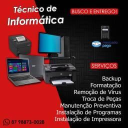 Manutenção PC e Notebook