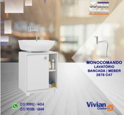 Título do anúncio: Misturador Monocomando lavatório | 2878 C47 | Meber