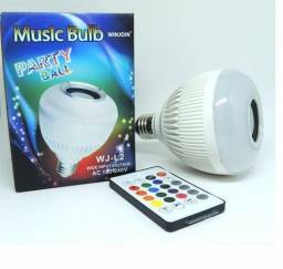 [NOVO] Lâmpada Led Bluetooth Musical RGB