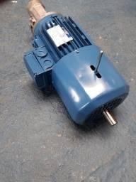 Motor elétrico trifásico motofreio 1 cv