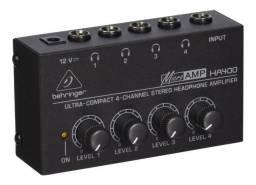 Amplificador Fone De Ouvido Microamp Ha400 - Behringer