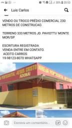 Salão Comercial já alugado - Jd.Paviotti/Monte Mor