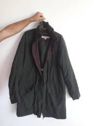 Sobretudo jaqueta