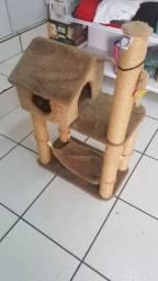 Casinha para gatos excelente estado