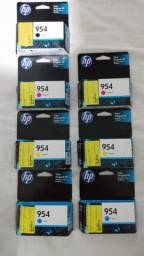 Cartuchos HP954 Originais - Kit com 7 cartuchos.