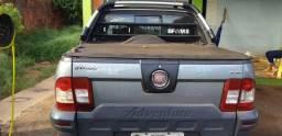 Troco Strada 13 13 gabine dupla adveture Cd por caminhão boiadeiro - 2013