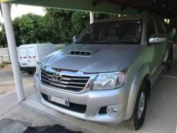 Toyota Hilux 4X4 Srv 3.0 Turbo Diesel, Manual 4p Baixa Km Extra - 2013