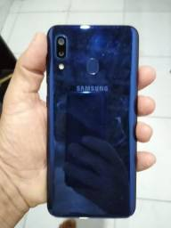 Samsung Galaxy A20 azul