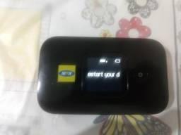 Roteador 4G portátil c/ bateria. Internet sem fio ( Oi, Tim, CTBC, Vivo e Claro )