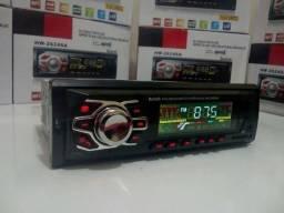 Som Automotivo Bluetooth USB 60w RMS x 4