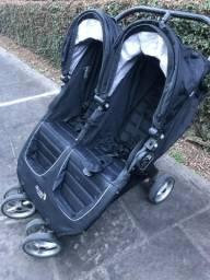Carrinho de bebe duplo - Double Stroller
