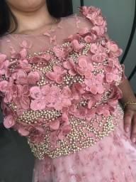 Vestido grife Alfreda usado 1 vez