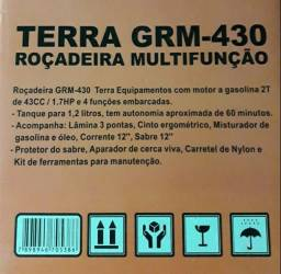 Roçadeira Gasolina  GRM430 Multifuncional 4x1 Terra