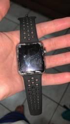 Apple Watch  quebrado a tela
