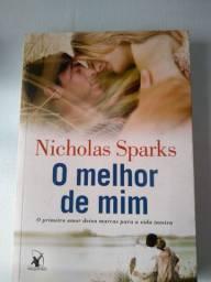 Livro de Nicholas Sparks - O melhor de mim