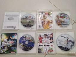 jogos PS3 4 JOGOS