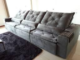 Sofá mega confort ( cinco anos de garantia)