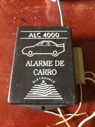 Alarme de carro Eletrovale - como novo