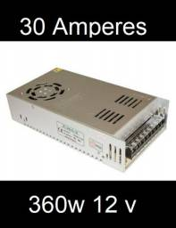 Fonte chaveada 12v 360w 30 Amperes (Novo na caixa)