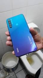 Xiaomi redmi note 8 está novo