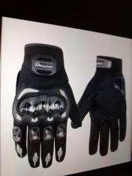 Luvas para motociclistas Unissex Antiderrapantes/Respirável