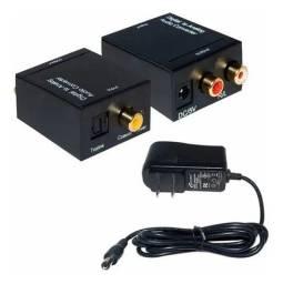 Conversor Optico Coaxial Digital P/ Saída Rca