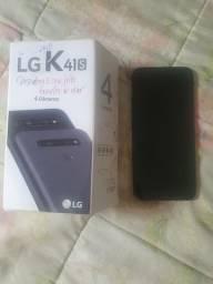 Vendo um celular LG k41 s 700 reas com um mes de uso