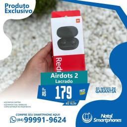 XIAOMI AIRDOTS 2 - ZERO/LACRADO *(FONE SEM FIO, BLUETOOTH)*