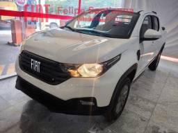 Nova Fiat Strada Freedom 1.3 Cabine Dupla Completa 2021 4 Portas 5 Lugares Lançamento