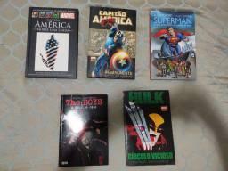 HQs Marvel, DC e The Boys
