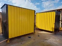 Fabricacao de containers para obra