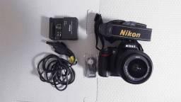 Nikon D3000 + Case+ Controle de disparo automático Nikon