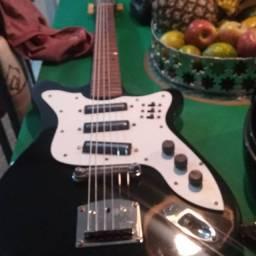 Guitarra gibson preta vintage