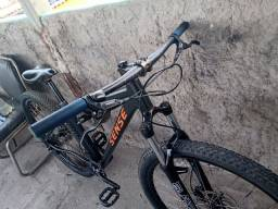Bike sense 29 deore 1x10 suspensão RST