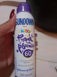 Protetor solar em spray