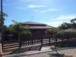 Rancho em Condomínio fechado c/ Sala de Jogos, Piscina e Mirante (200m do rio)