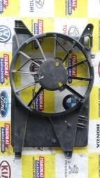 Defletor carenagem suporte ventoinha eletroventilador chevrolet corsa montana