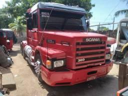 Scania 113 no ponto de trabalhar
