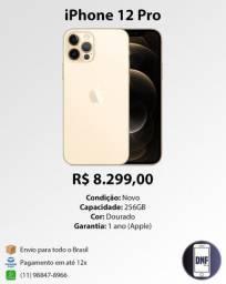 Apple iPhone 12 Pro 256GB Dourado (Gold) Novo Lacrado