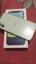 Iphone 12 normal na cor verde, novo! Acompanha carregador!
