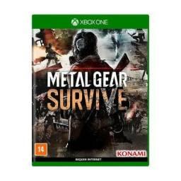 Metal Gear Survive | Jogo Xbox One | Novo/Lacrado