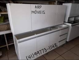 Conjunto Cozinha. Pia+Aéreo. NOVOS. ENTREGAMOS