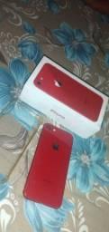 Vendo iPhone 8 red 64gigas apenas venda não aceito trocas
