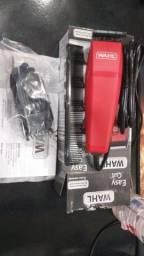 Máquina De Cortar Cabelo Wahl Easy Cut - Vermelha 10 Peças