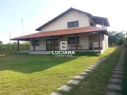 Casa com 5 suítes + Mezanino Raiz da Serra 2 (Cód.: lc257)