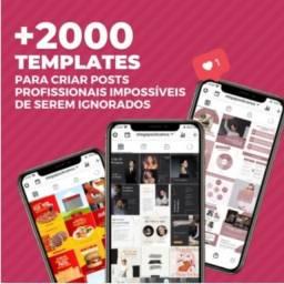 Título do anúncio: Pacote de Artes prontas para Instagram Editáveis