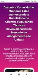 CURSO DE ALONGAMENTO DE UNHAS MEGA ACESSÍVEL, TOTALMENTE ONLINE (LEIA O ANÚNCIO)