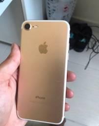 iPhone 7 128GB Dourado ótimo estado